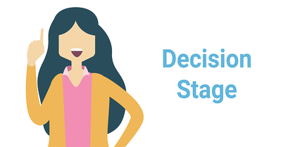 Decision stage buyer's journey