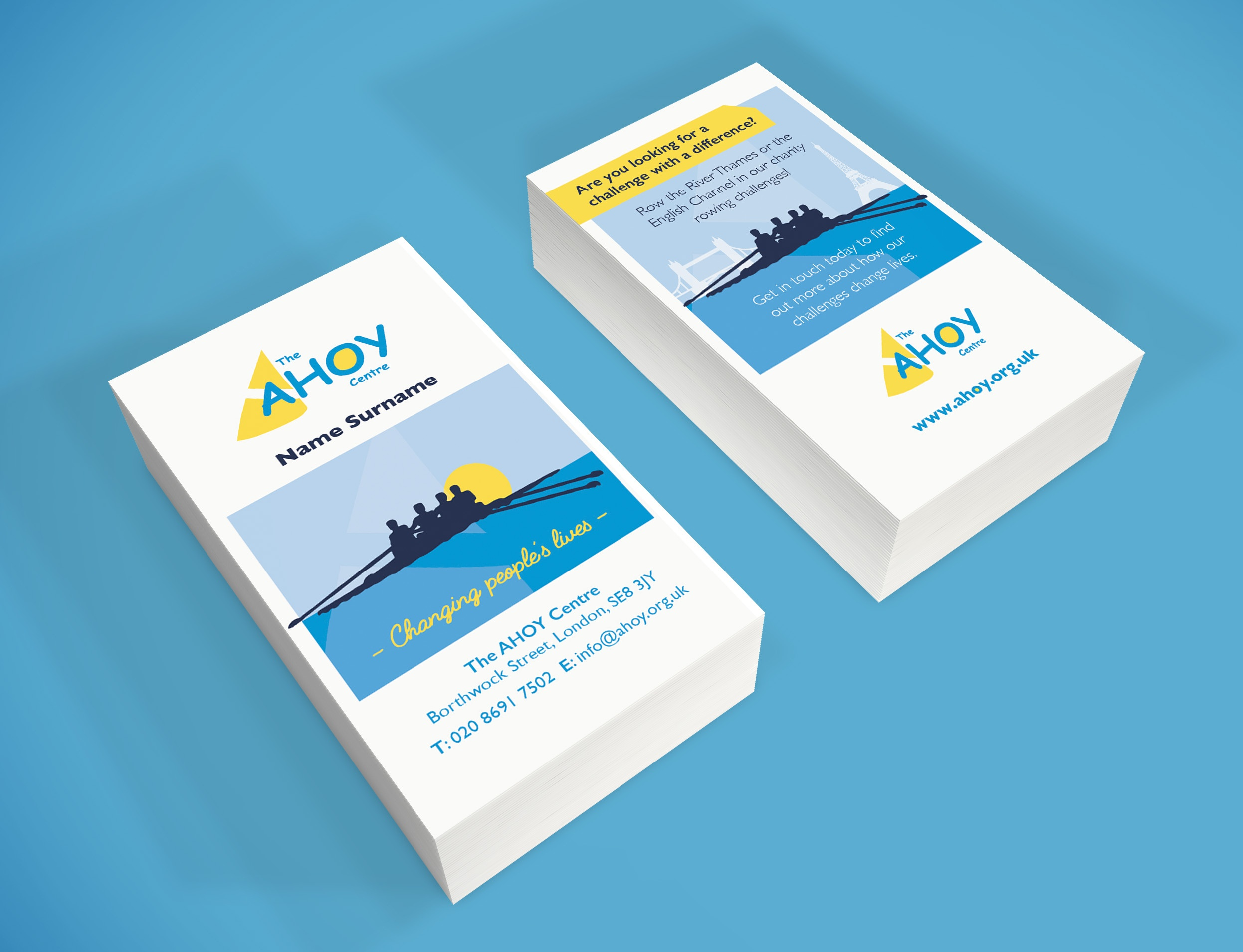 Ahoy Business Cards