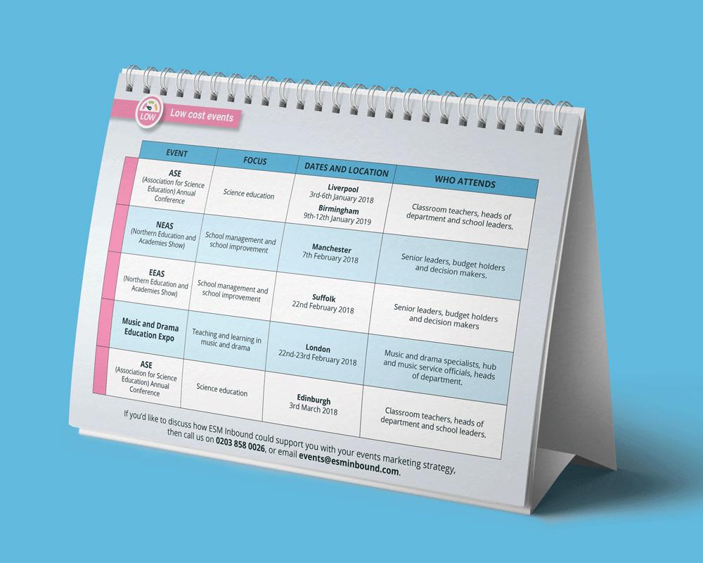 ESM Tradeshow Calendar