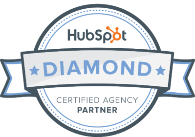 Diamond hubspot agency partner badge