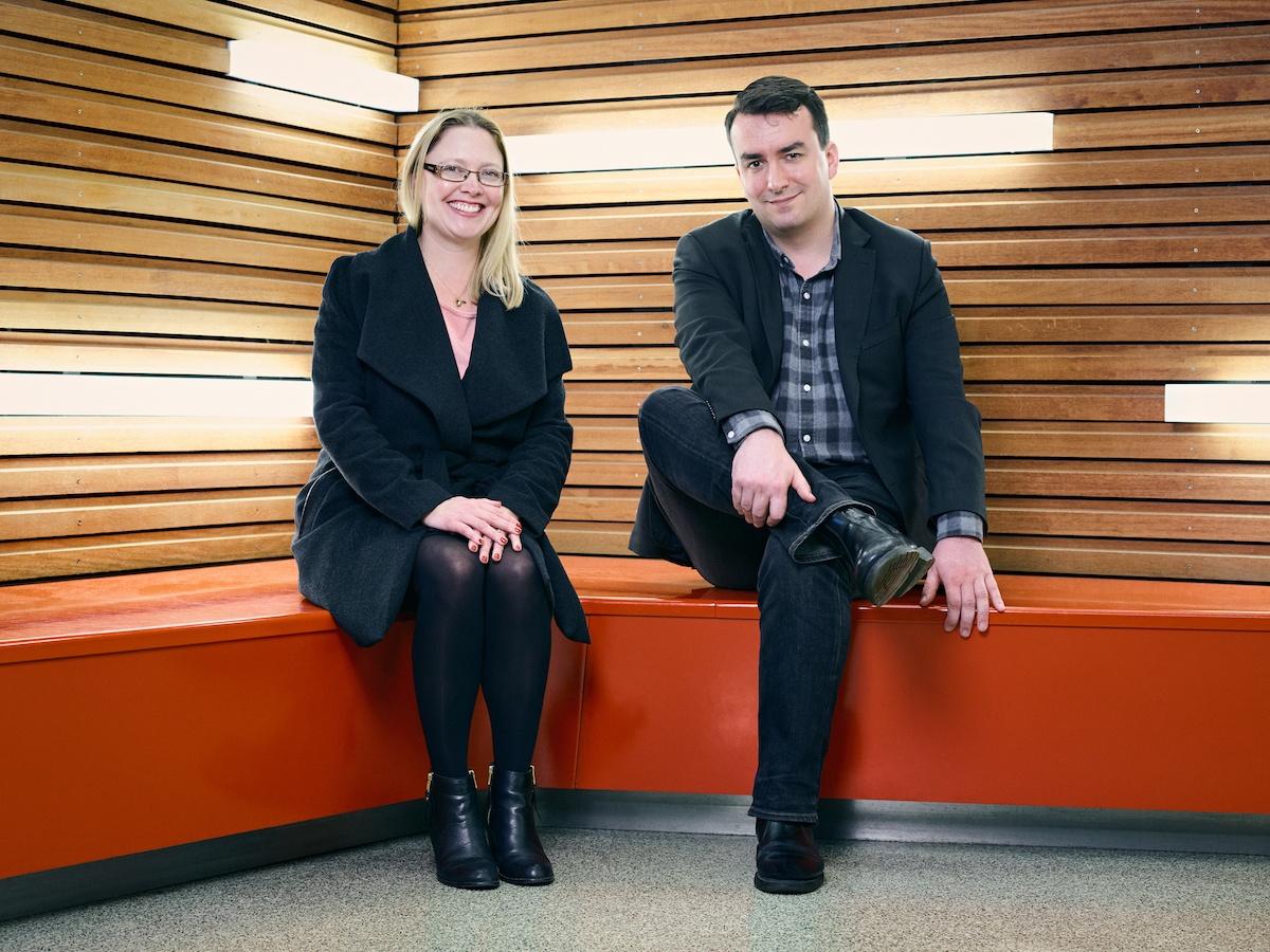ESM Inbound's directors - Lucy Seymour and John Kelleher