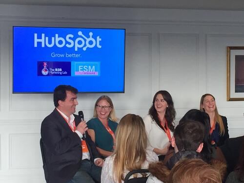 ESM Inbound speaks at Grow with HubSpot event