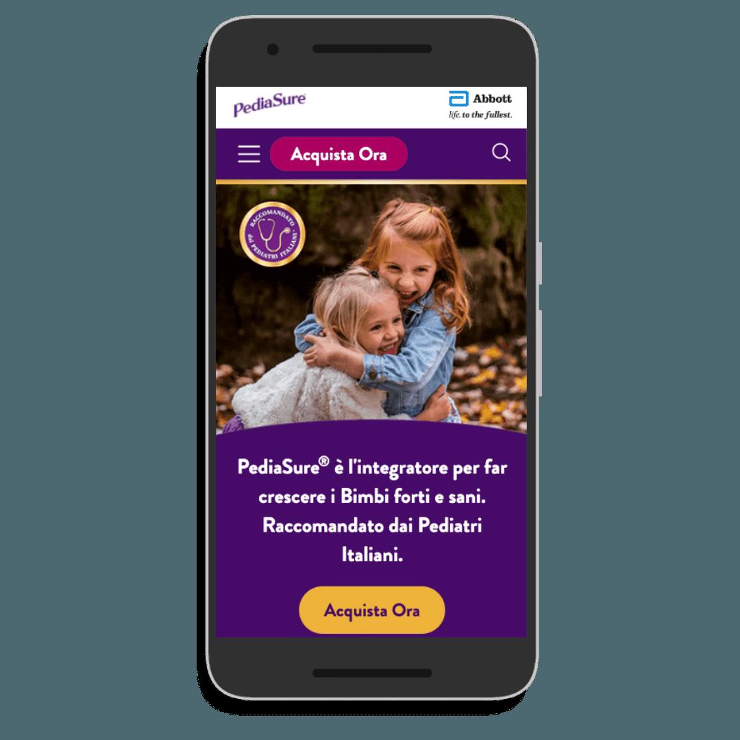 PediaSure smartphone
