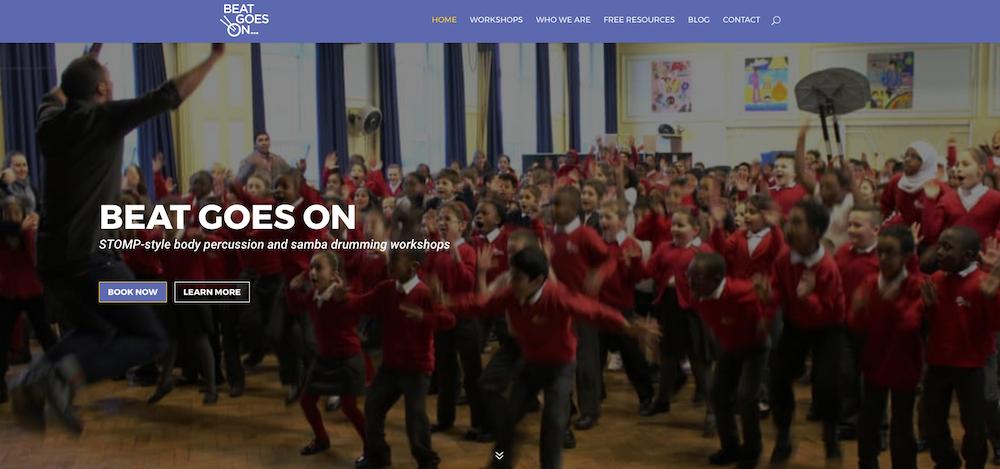 Beat Goes On website