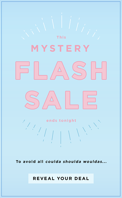 mystery FOMO email newsletter