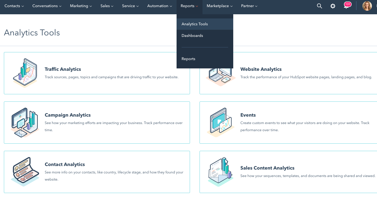 How to use analytics tools in HubSpot