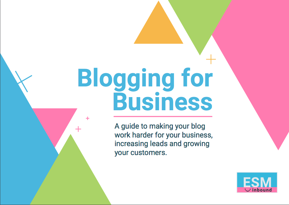 Blogging for business ebook